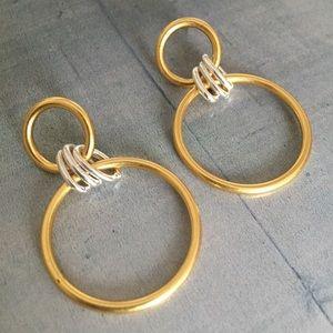 madewell | encircle hoop earrings